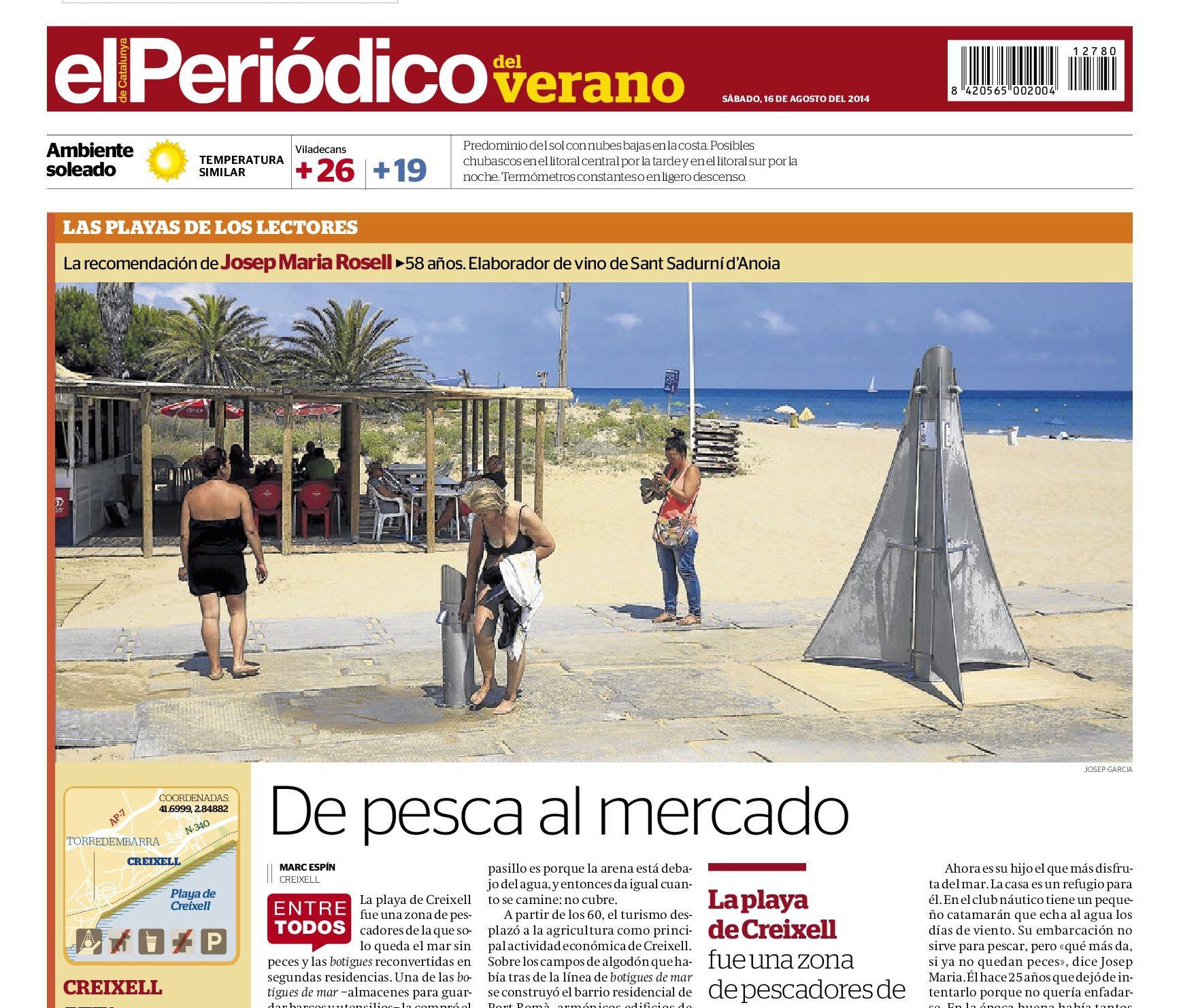Playa de Creixell | De pesca al mercado