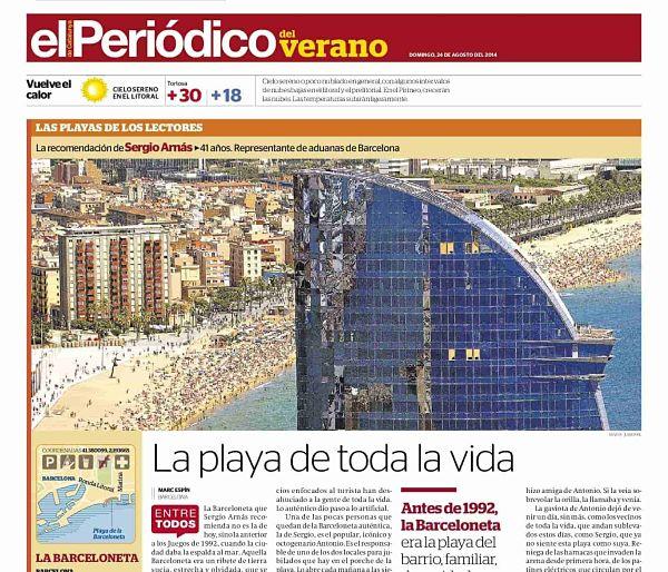 La Barceloneta, Barcelona | La playa de toda la vida